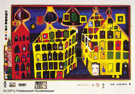 It hurts to wait with love if love is somewhere else HWG46, © Friedensreich Hundertwasser
