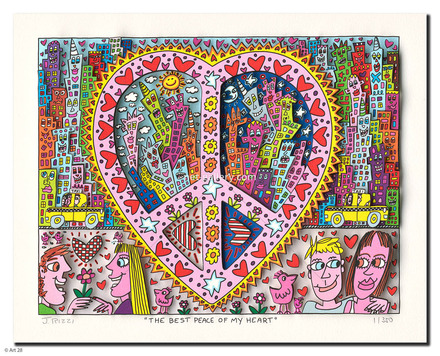 the best peace of my heart enlarge james rizzi