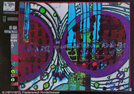 A rainy day on the Regentag HWG48, © Friedensreich Hundertwasser
