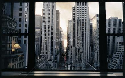 mid town window