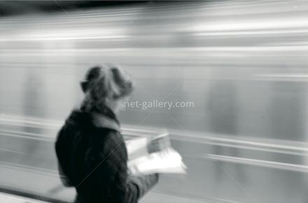 subway NYC 2000