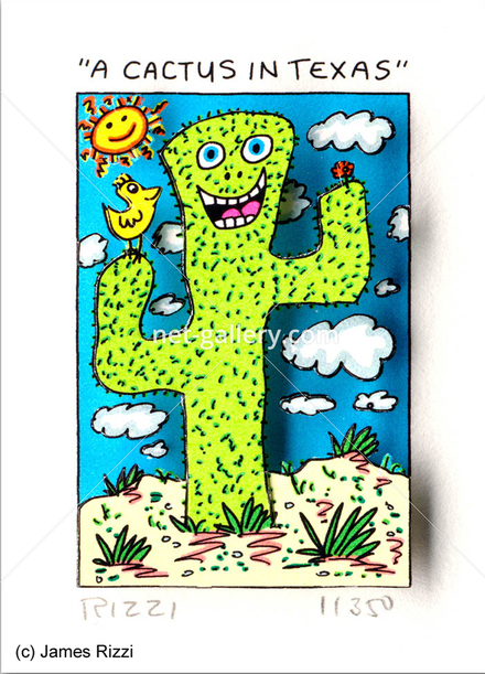 A Cactus in Texas
