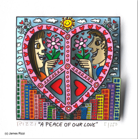 A peace of our love