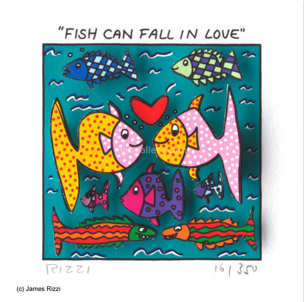 Fish can fall in love