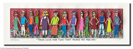 True love for two - that means me and you