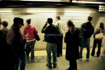 subway NYC 2006