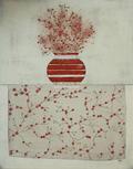 Blumentopf rot